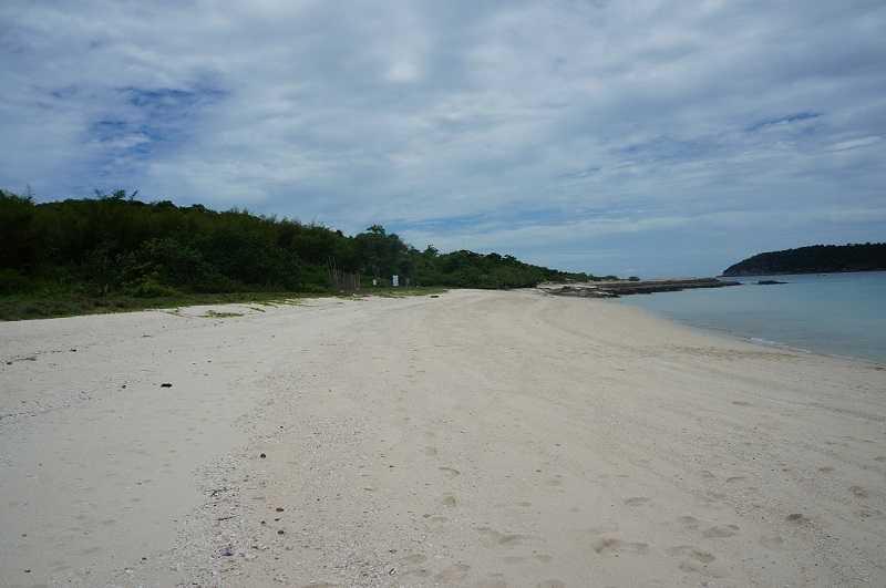 Тайланд остров Ко Пхай песок