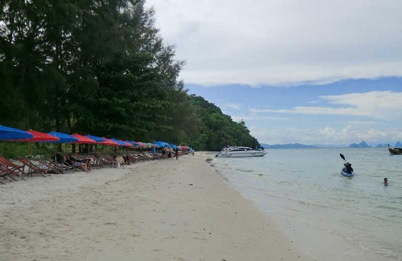 Тайланд остров Нака-Яй