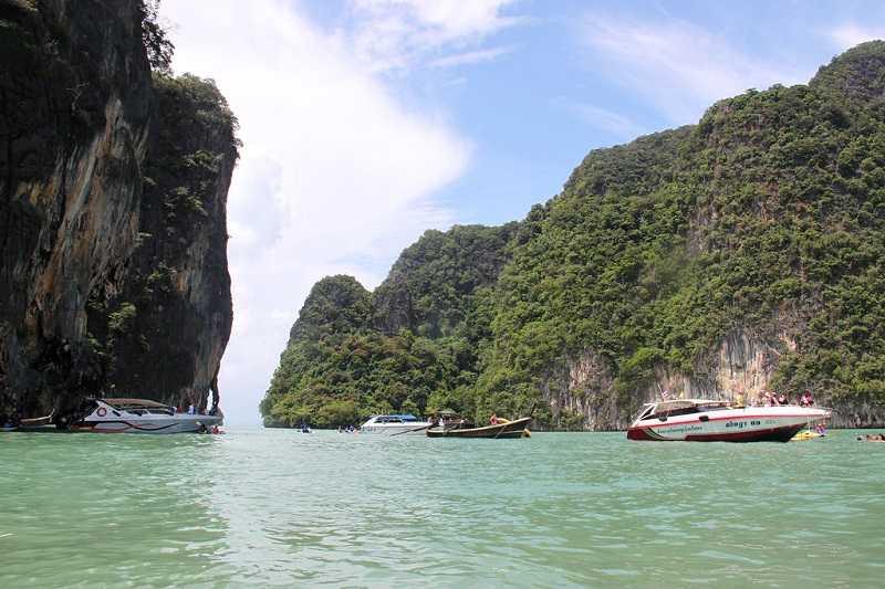 Тайланд острова Панак и Нака