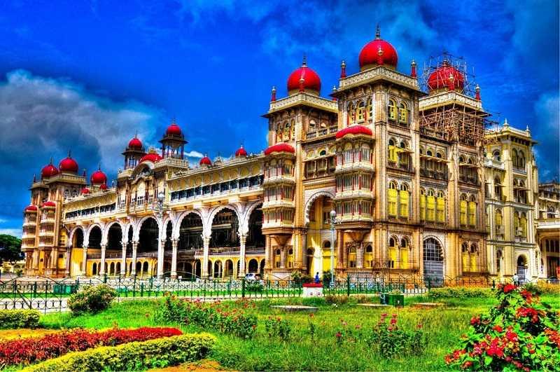 Варкала дворец Махараджей