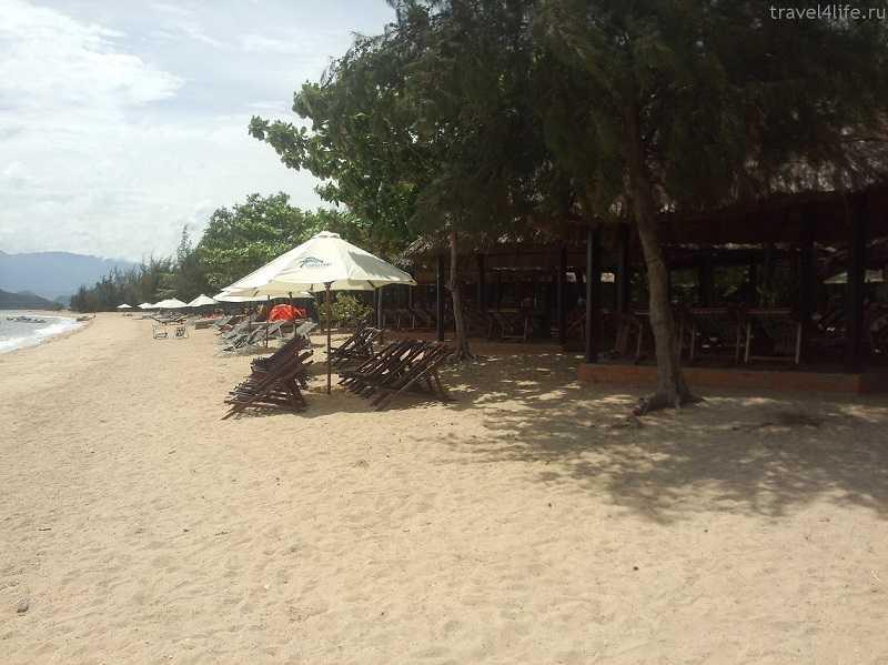 Вьетнам остров Орхидей пляж