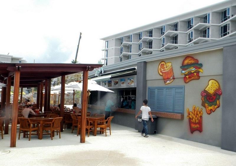 аквапарк splash jungle пхукет ресторан