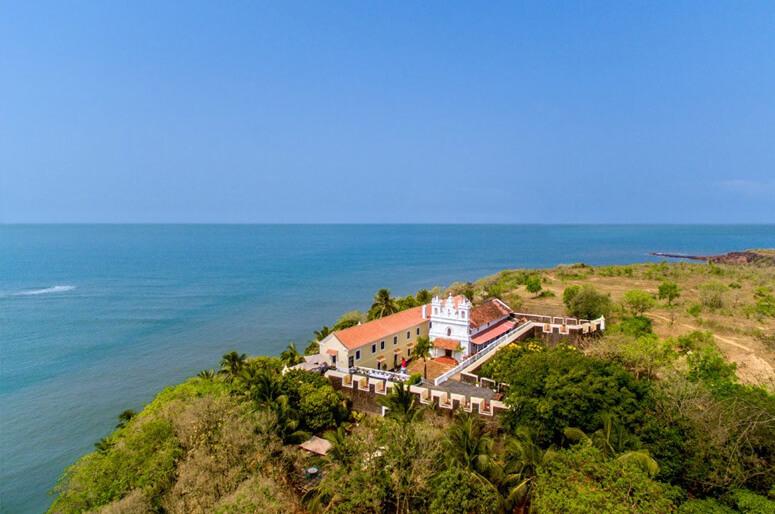 Форт Тираколь,Гоа