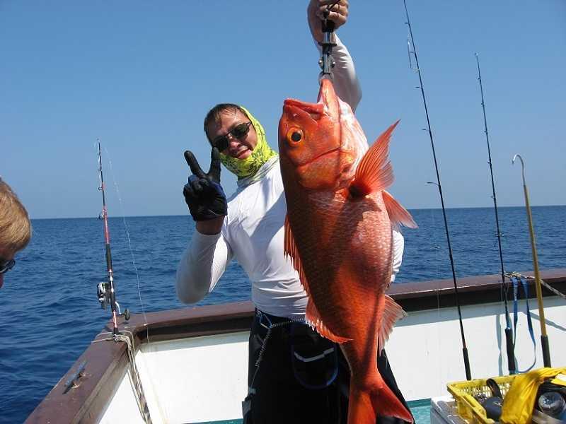 глубоководная рыбалка на Пхукете