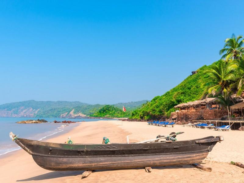 Пляж Кола бич,Гоа