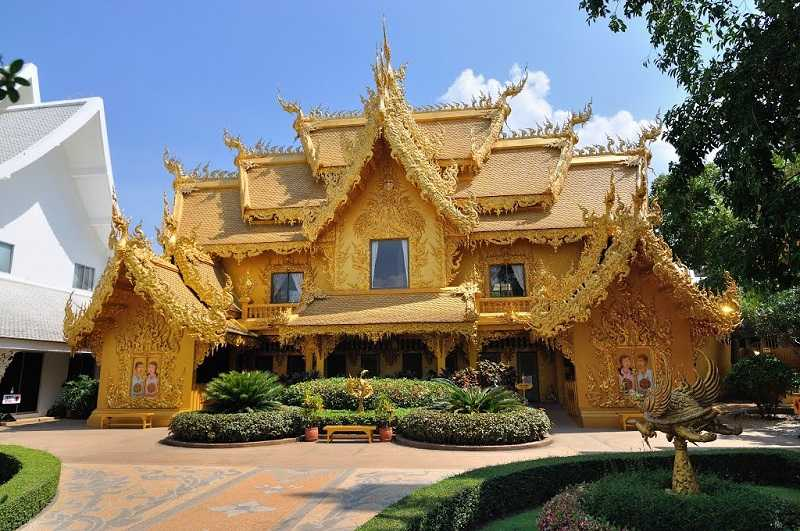 город Чианг храм Пхра Каю