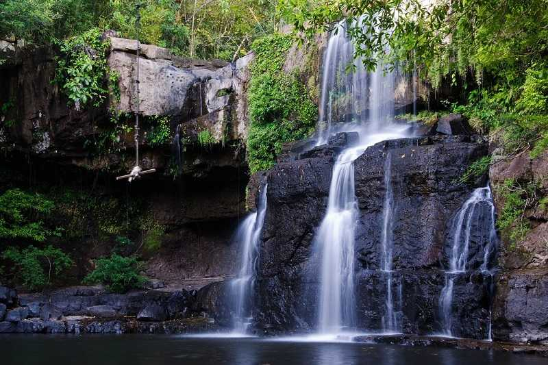 остров Ко Куд водопад Клонг Чао
