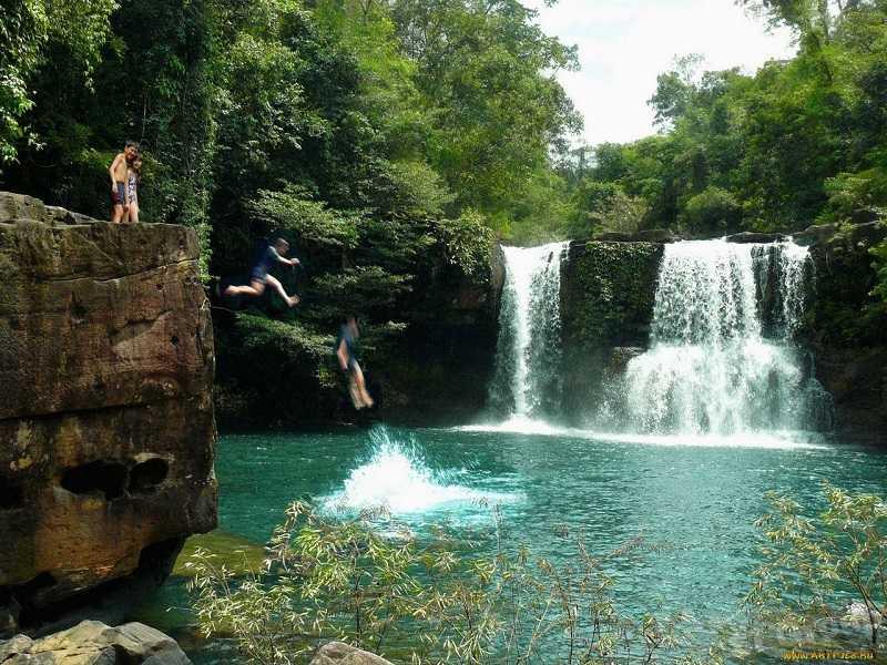 остров Ко Куд водопад Клонг Яй Ки