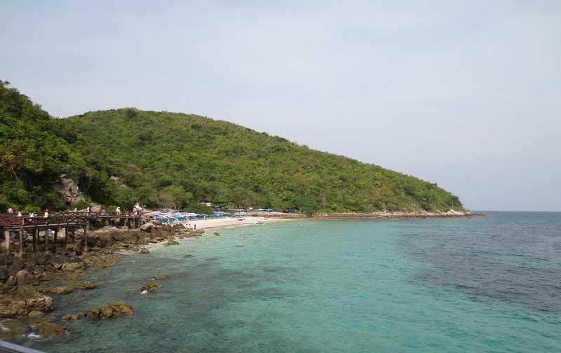 остров Ко Лан пляж Лаем Сангван