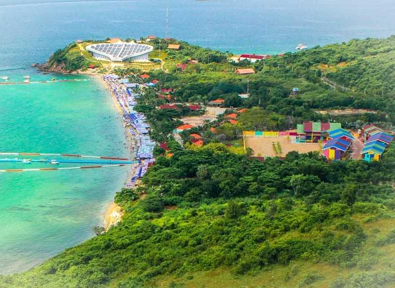 малышка остров ко лан паттайя пляжи миллионов занимаются