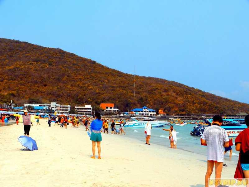 остров Ко Лан пляж Таваен