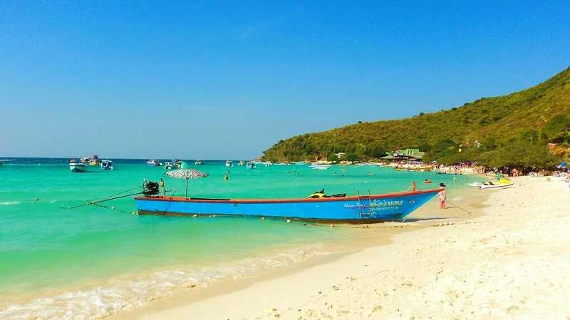 остров Ко Лан пляж Тьен