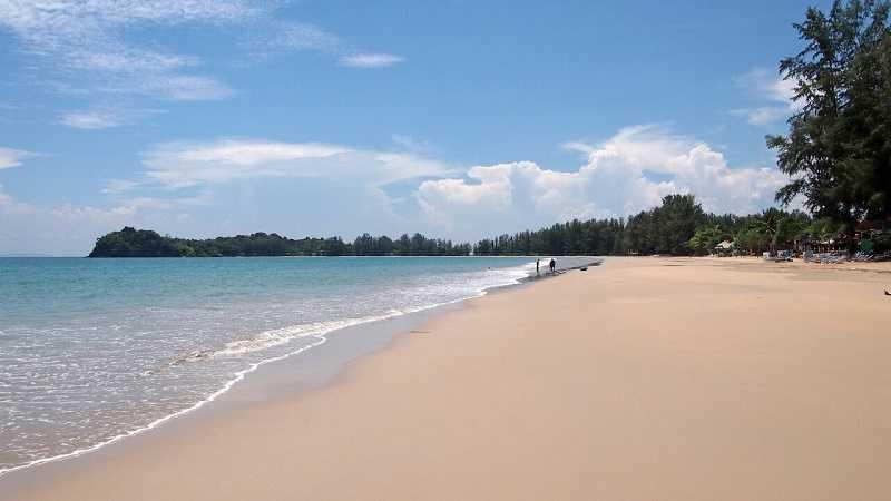 остров Ко Ланта пляж Клонг Дао