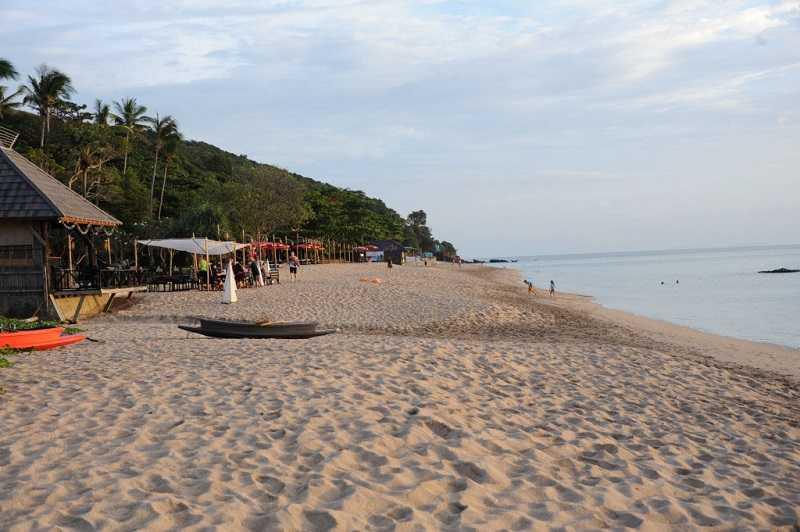 остров Ко Ланта пляж Клонг Нин