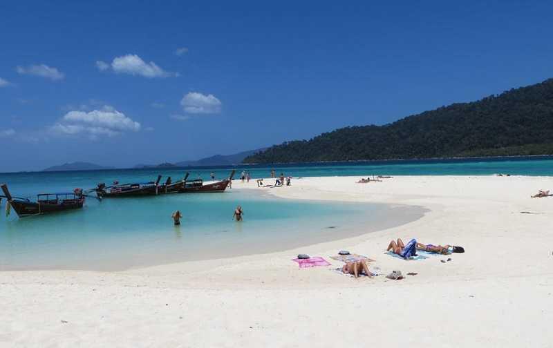 остров Ко Липе пляж Карма