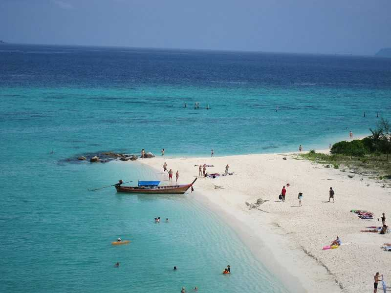 остров Ко Липе пляж Паттайя