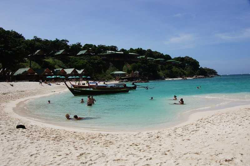 остров Ко Липе пляж Санрайз