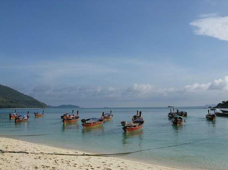остров Ко Липе рыбалка