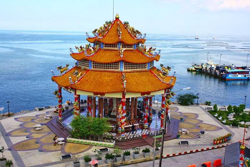 остров Koh Sichang китайский храм