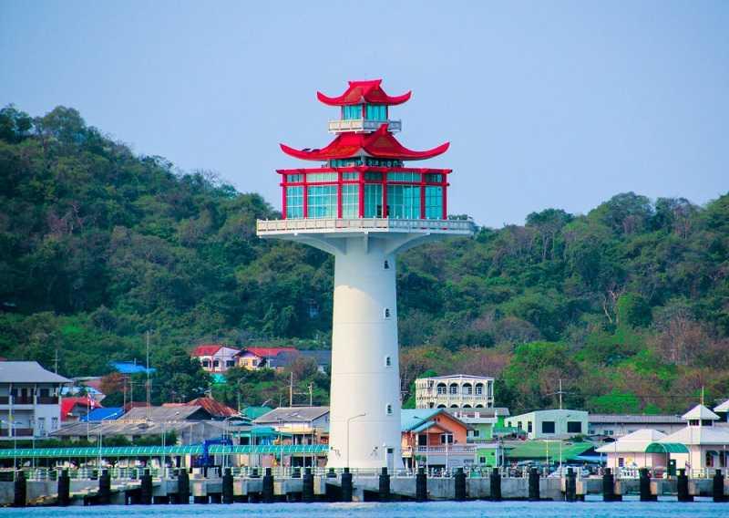 остров Koh Sichang ландшафт