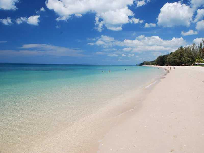остров Ланта пляж Лонг Бич