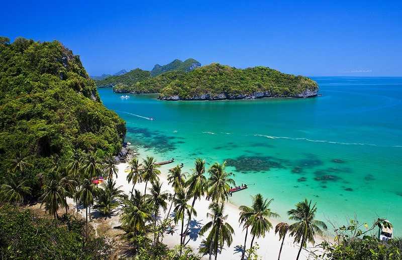 остров Панган Ang Thong Marine National Park