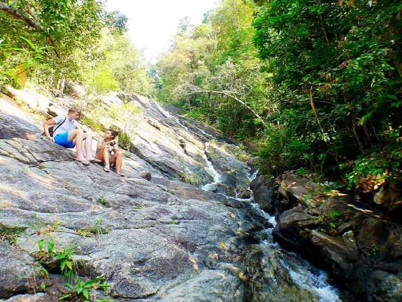 остров Панган водопад Than Prawet Waterfall