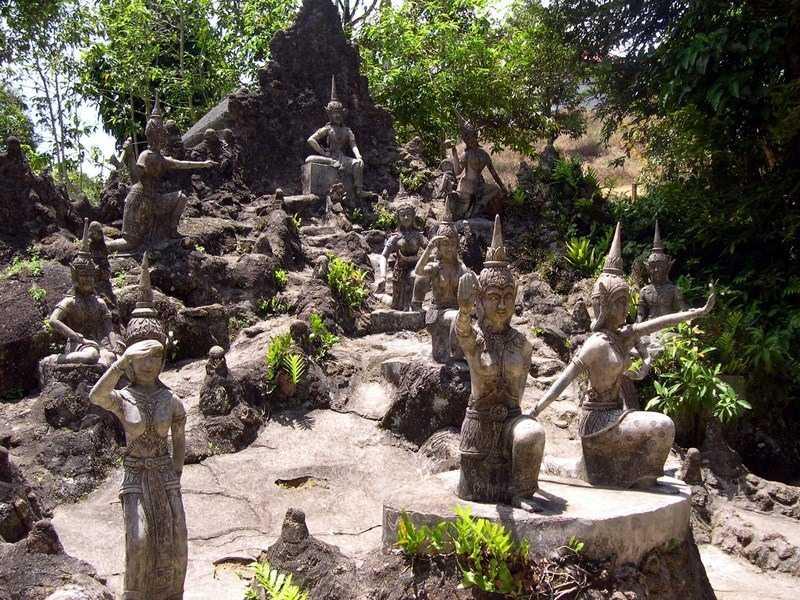 остров Самуи сад Будды