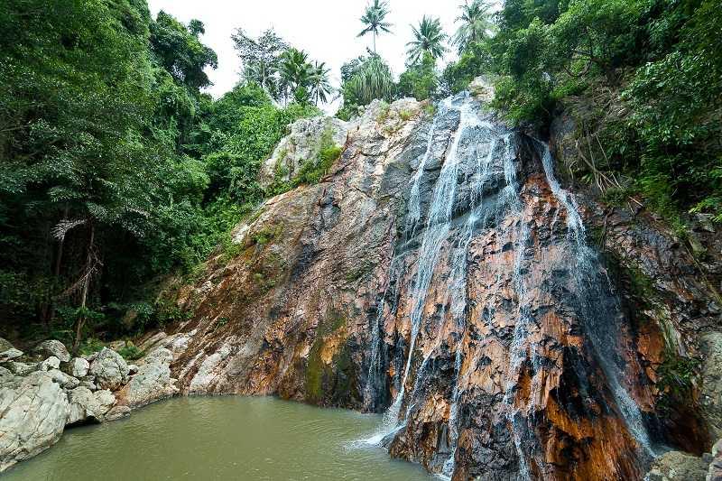 остров Самуи водопад Намуанг