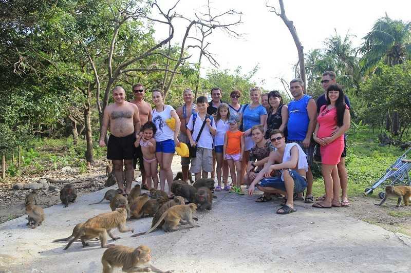 остров обезьян вьетнам общение
