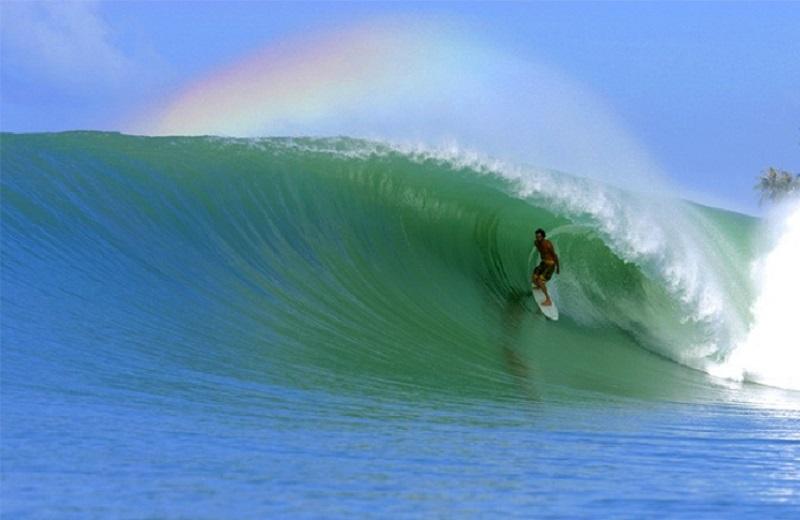 пляж Бали Кута серфинг
