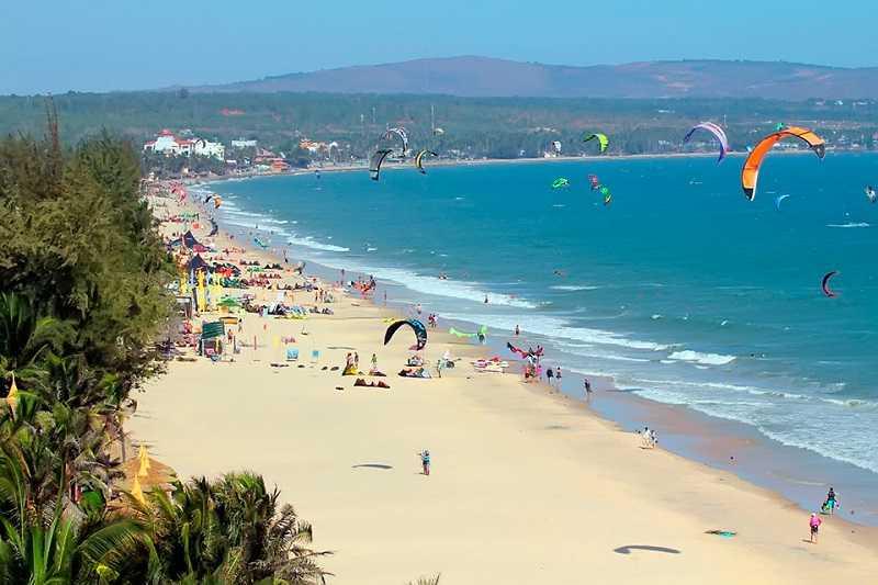 пляжи Муйне расположение