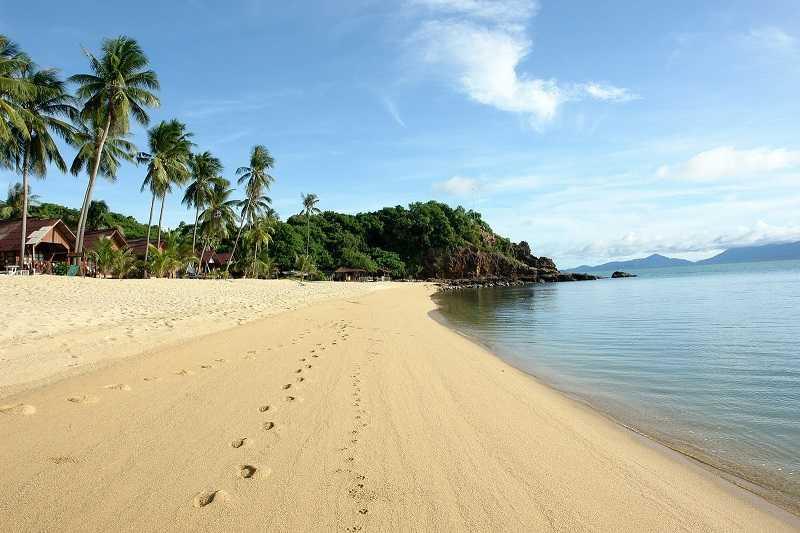 самуи пляж Маенам Бич